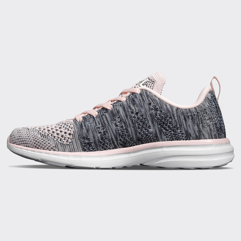 Women's TechLoom Pro Bleached Pink / Heather Grey / White