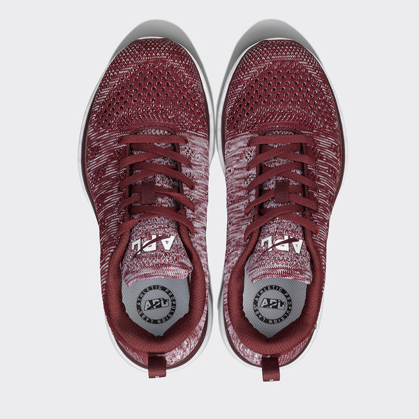 Men's TechLoom Pro Burgundy / White / Melange