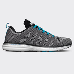 Men's TechLoom Pro Metallic Silver / Black / Blue Flame