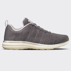 Men's TechLoom Pro Metallic Silver / Off White