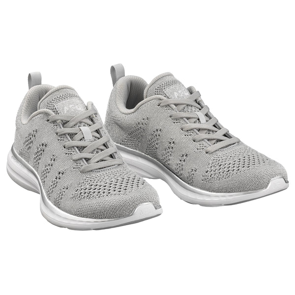 Men's TechLoom Pro Metallic Silver / White