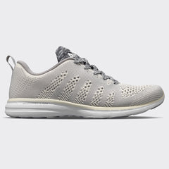 Men's TechLoom Pro Pristine / Heather Grey / White