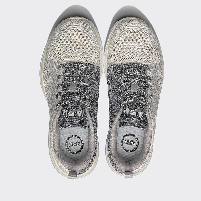 Women's TechLoom Pro Pristine / Heather Grey / White