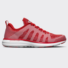 Women's TechLoom Pro Red  /  White  /  White