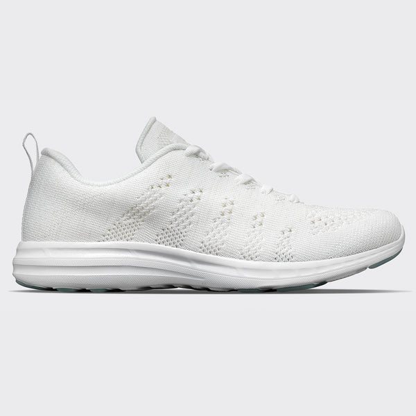 Men's TechLoom Pro White / Metallic Pearl