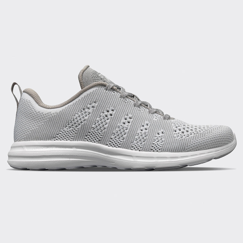 Women's TechLoom Pro White / Metallic Silver / White