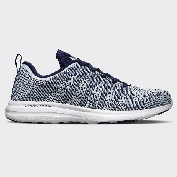Men's TechLoom Pro White / Navy / White