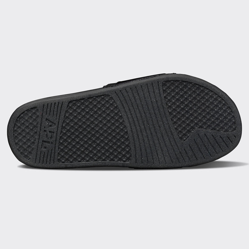 Women's TechLoom Satin Slide Black