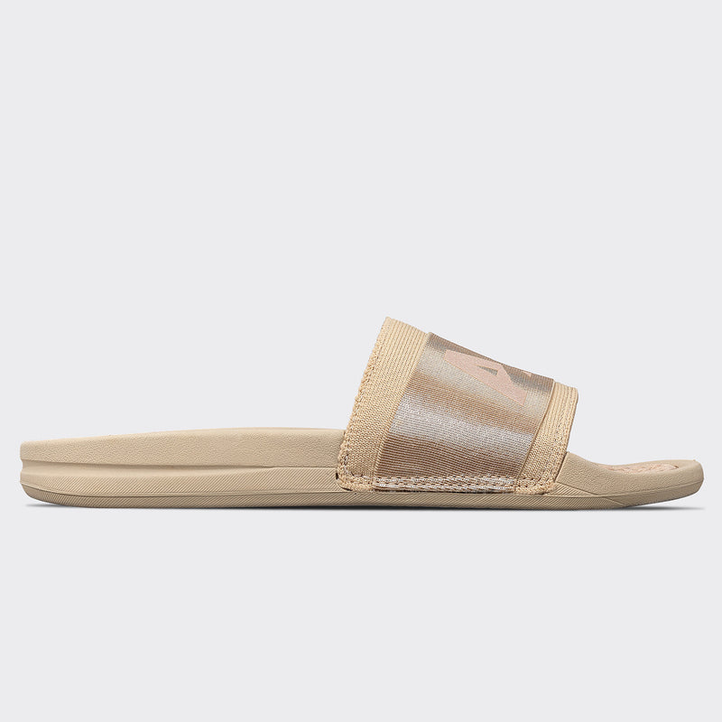 Women's TechLoom Satin Slide Champagne