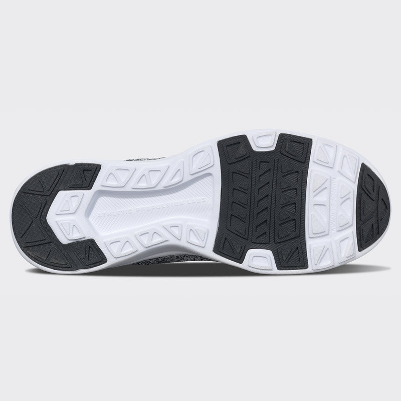 Men's TechLoom Tracer Black / Heather Grey / White