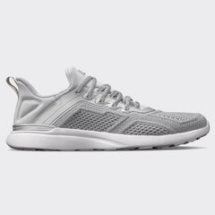 Men's TechLoom Tracer Metallic Silver / White