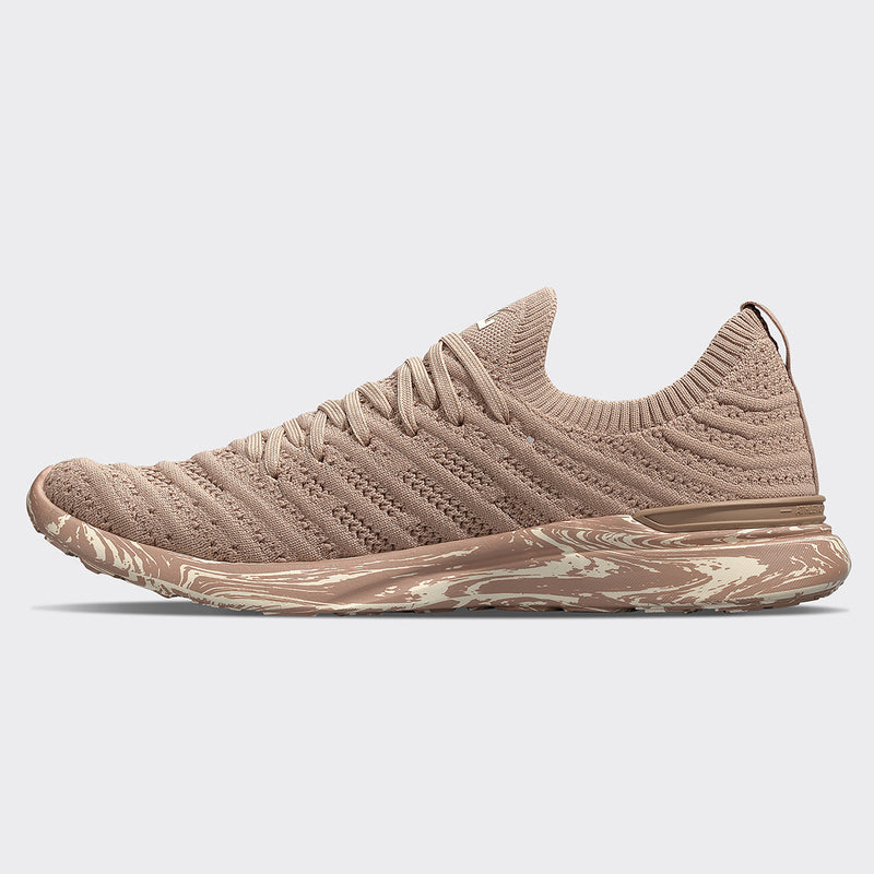 Women's TechLoom Wave Almond / Pristine / Marble