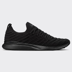 Men's TechLoom Wave Black / Black