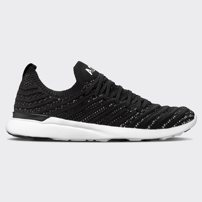Men's TechLoom Wave Black / White / White