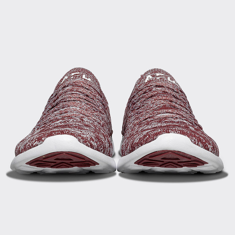 Women's TechLoom Wave Burgundy / White / Melange