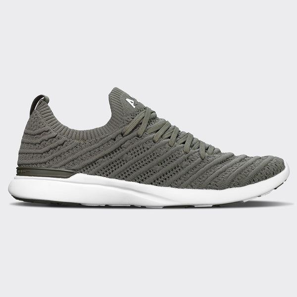 Women's TechLoom Wave Fatigue / White