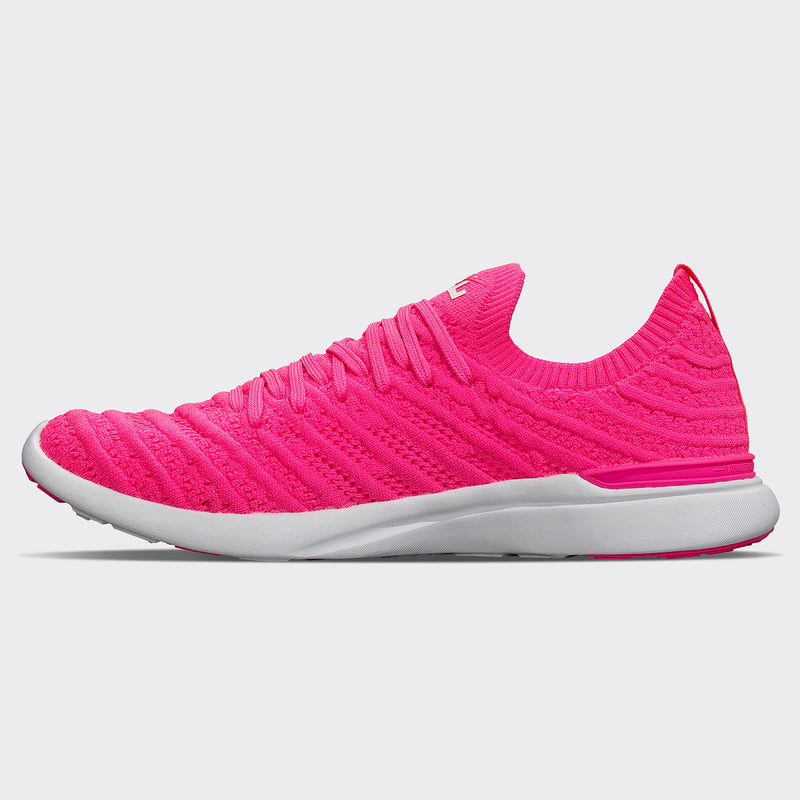 Women's TechLoom Wave Fusion Pink / White