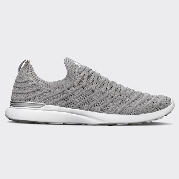 Women's TechLoom Wave Metallic Silver / White