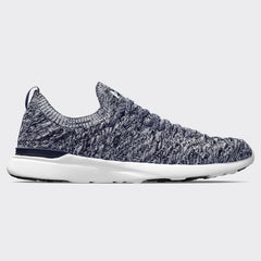Men's TechLoom Wave Navy / White / Melange