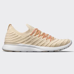 Women's TechLoom Wave Parchment / White / Multi