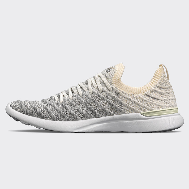 Women's TechLoom Wave Pristine / Heather Grey / Ombre