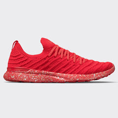 Women's TechLoom Wave Red / Metallic Speckles