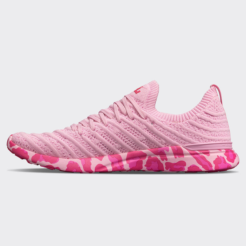 Women's TechLoom Wave Soft Pink / Leopard