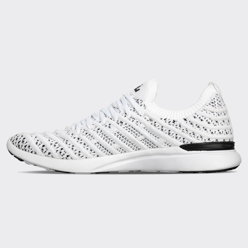 Men's TechLoom Wave White / Black