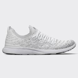 Women's TechLoom Wave White / Metallic Silver / Ombre