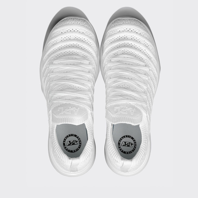 Men's TechLoom Wave White / White
