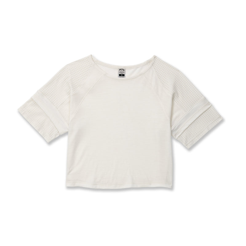 Women's The Perfect Wool Crop Top Off White