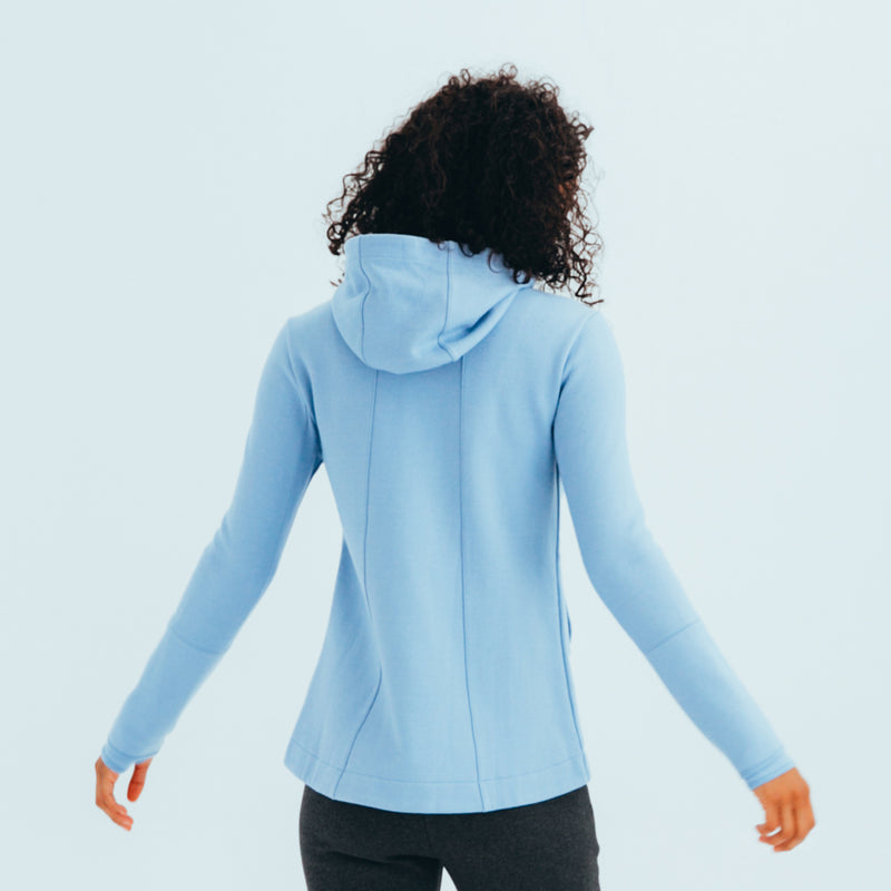 Women's The Perfect Wool Hoodie Powder Blue