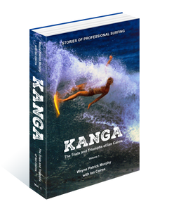 KANGA Book - a history of Pro Surfing - PRE-SALE