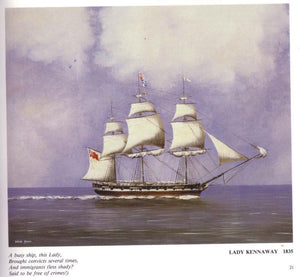 This is Lady Kennaway, the ship that brought my Great Grandfather, George Cairns to Australia from Ireland in 1849.