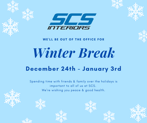 SCS Winter Break December 24-January 3