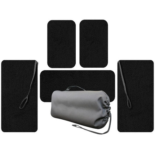 Crew, Passenger And Wing Set Of Floor Mats For Cirrus Aircraft Without A/C
