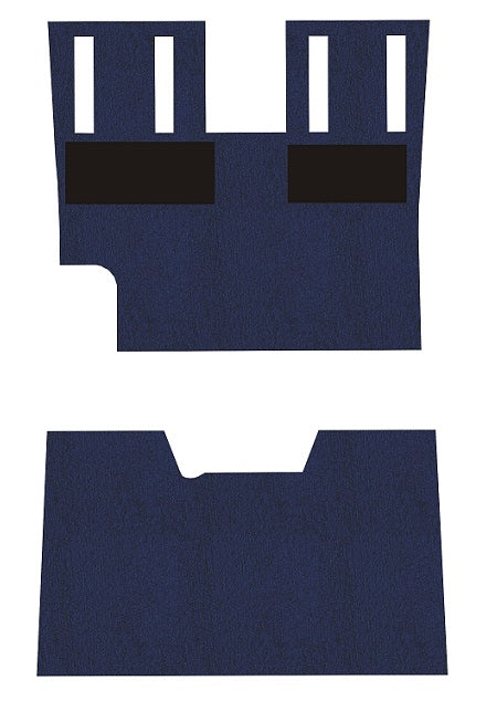 Beechcraft D-F35 Bonanza Front Only Pre-Cut Carpet Kit