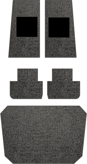 PA 28 Complete Floor Mat Set