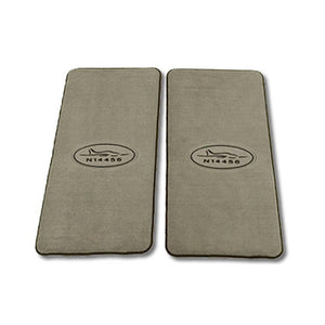 Crew Mats With Embroidered Tail Number and Premium Logo