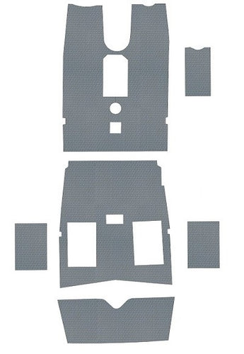 Piper PA24-260 C Comanche Pre-Cut Vinyl Floor Kit