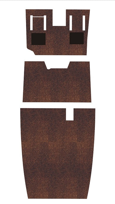 Beechcraft Bonanza and Debonair J35V Pre-Cut Carpet Kit