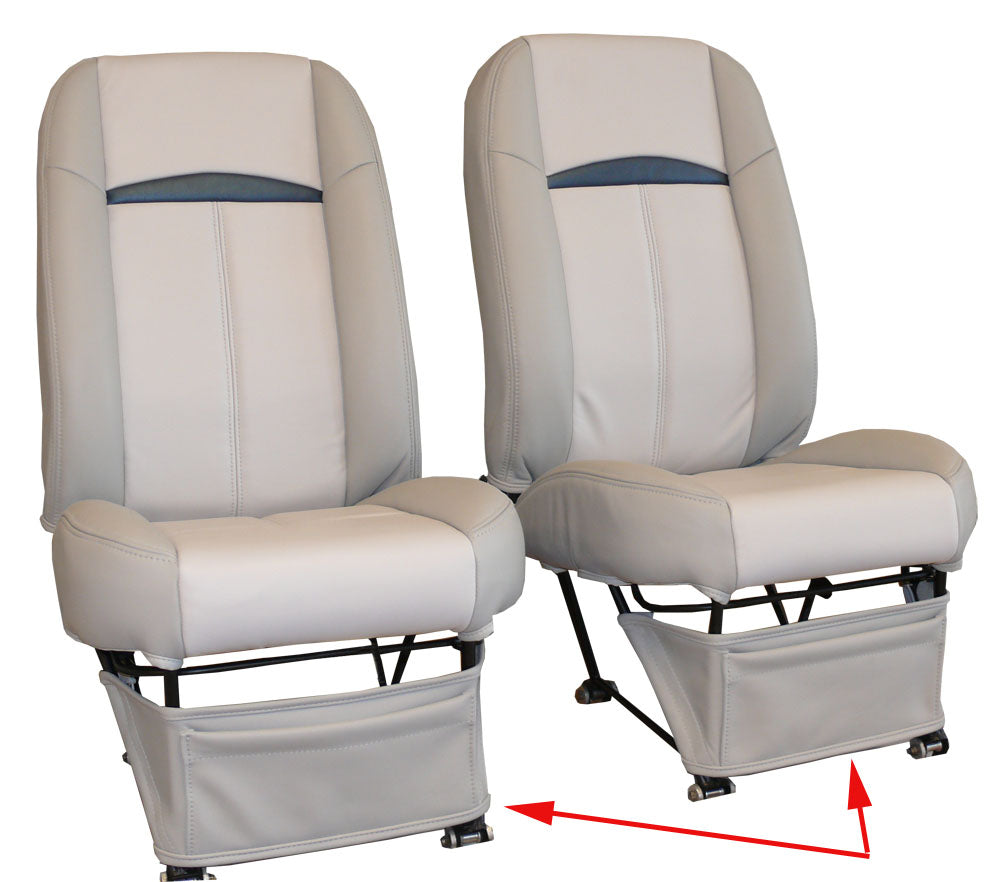 Piper Cherokee Accessory Seat Storage Panel (Cockpit Organizer)