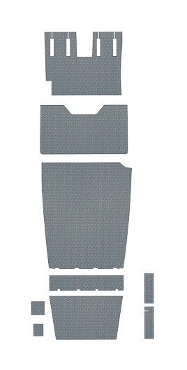 Beechcraft B36TC Bonanza Pre-Cut Vinyl Floor Kit