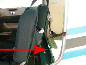 "Arrow Points To Green Plastic ""Cargo Lip"""