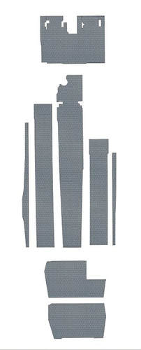 Cessna 414 Pre-Cut Vinyl Floor Kit -Fits 1975