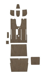 Piper PA24-180 Comanche Pre-Cut Carpet Kit