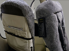 Cirrus Crew Sheepskin Seat Covers and Matching Seat Belt Wraps