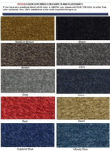 Nylon Carpet Colors