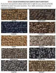 Wool Carpet Colors