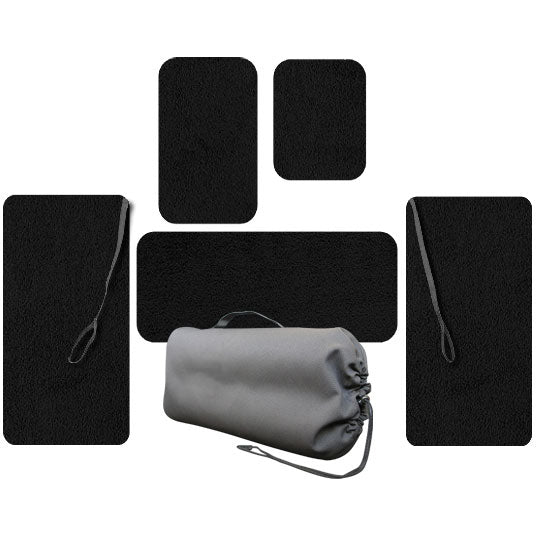 Crew Passenger And Wing Set Of Floor Mats For Cirrus Aircraft Equipped With A/C